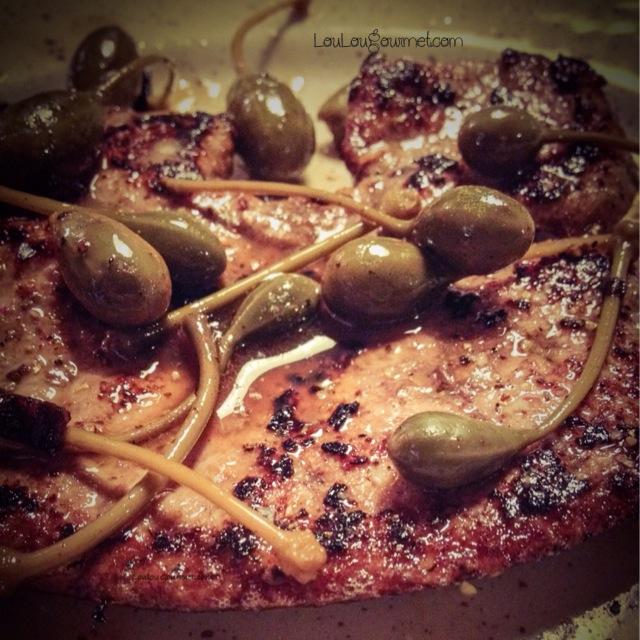 Loulougourmet foie de veau po l vinaigre de framboises c pres - Recette foie de veau poele ...