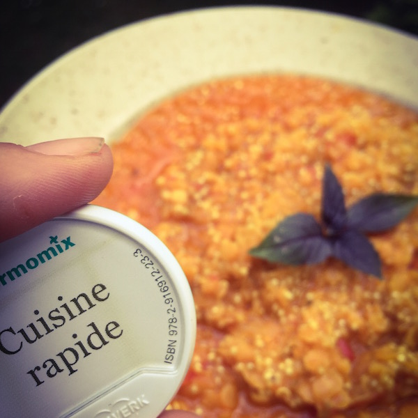 Recettes lentilles corail thermomix for Thermomix cuisine rapide