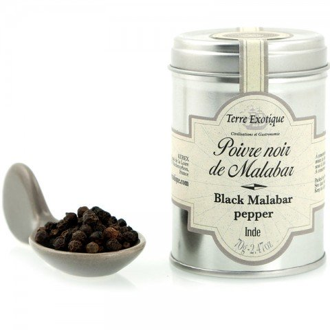 Poivre Noir de Malabar - Inde