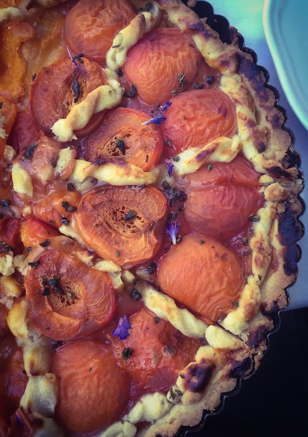 Tarte à l'abricot - tout simplement -