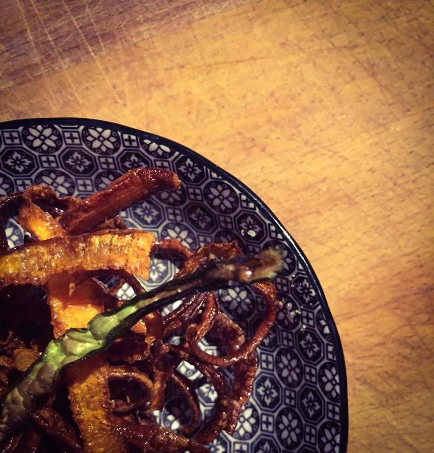 Chips CrouStillantes d'Épluchures de Carottes ...