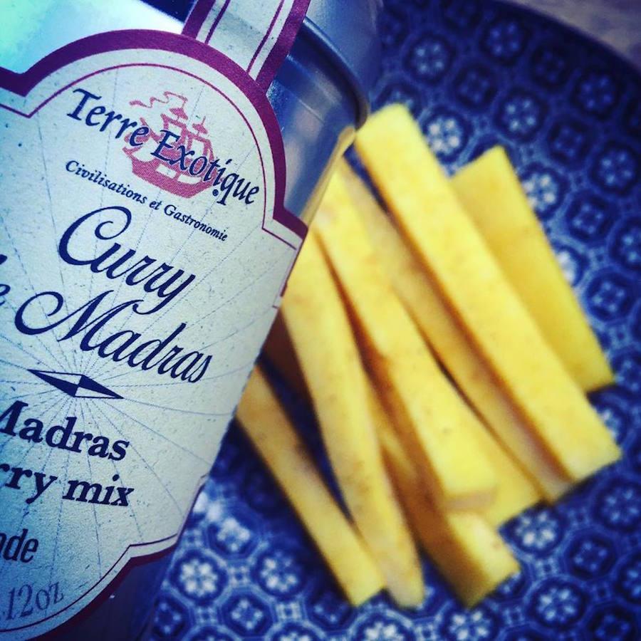 - Gouda Curry de Madras -