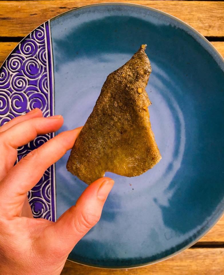Chips de Peau de Poisson -