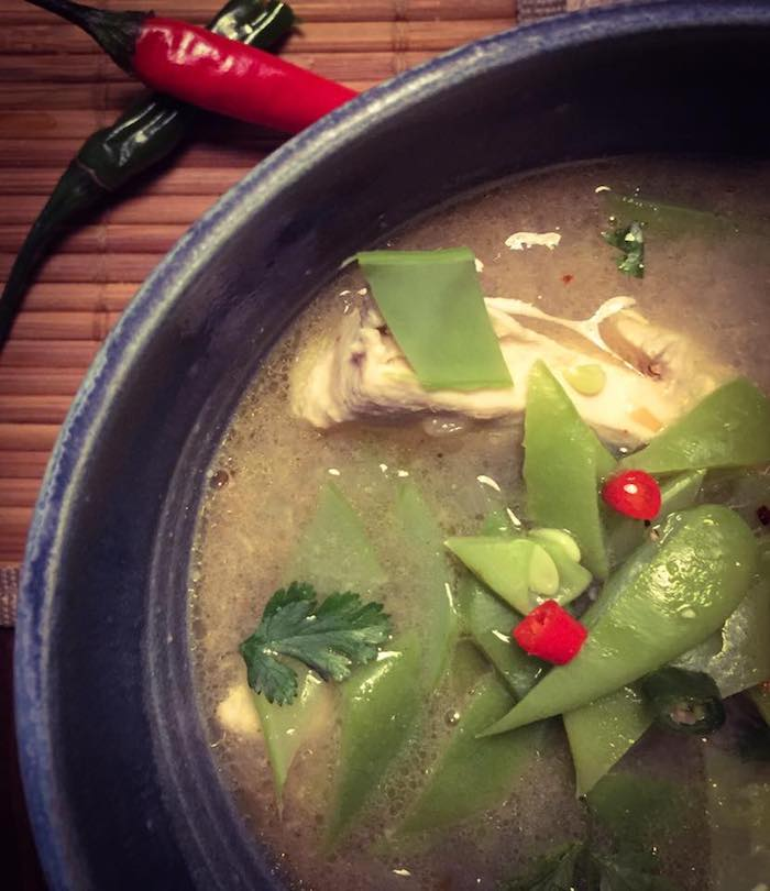 Soupe Tom Kha Kai Ô Thermomix
