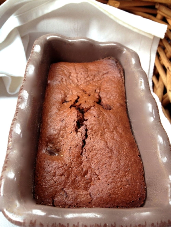 Cake au chocolat Sans farine Ni Levure