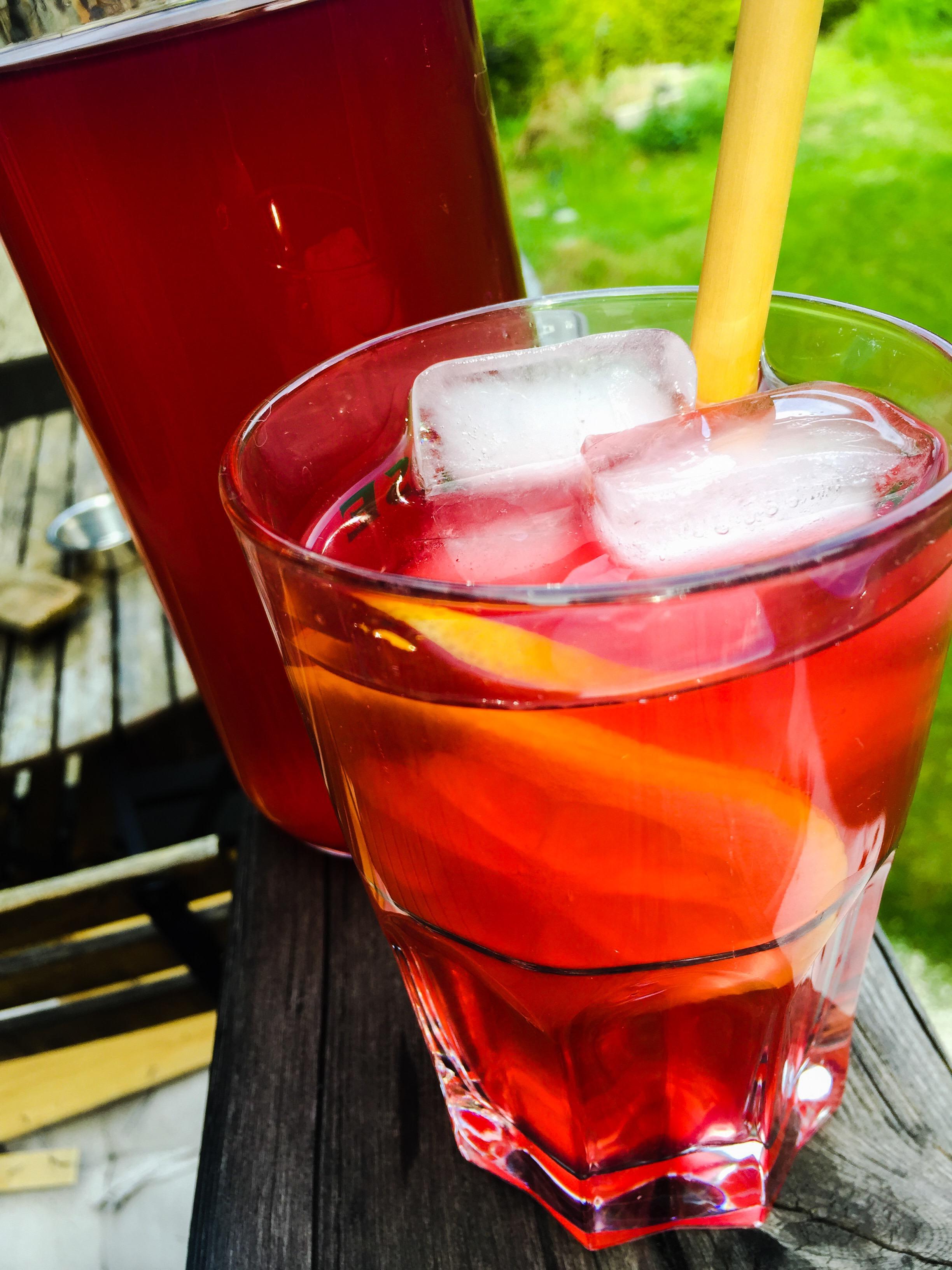 Thé Glacé d'Hibiscus - Bissap