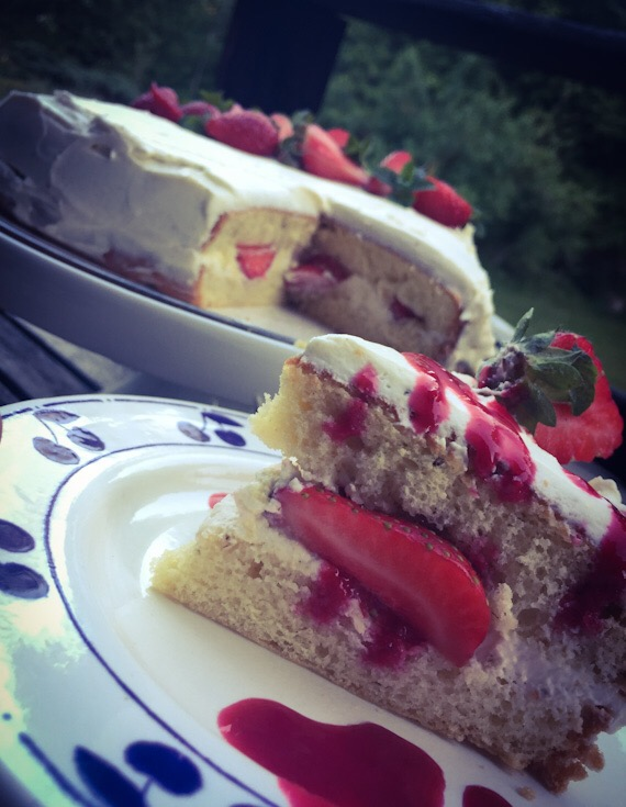 Fraisier Rapide @thermomix